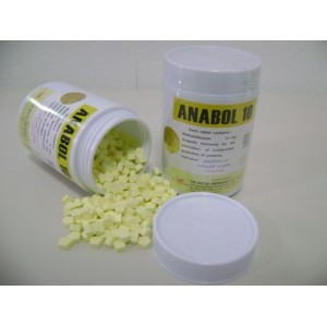ANABOL 10 MG - pack 50 tabs